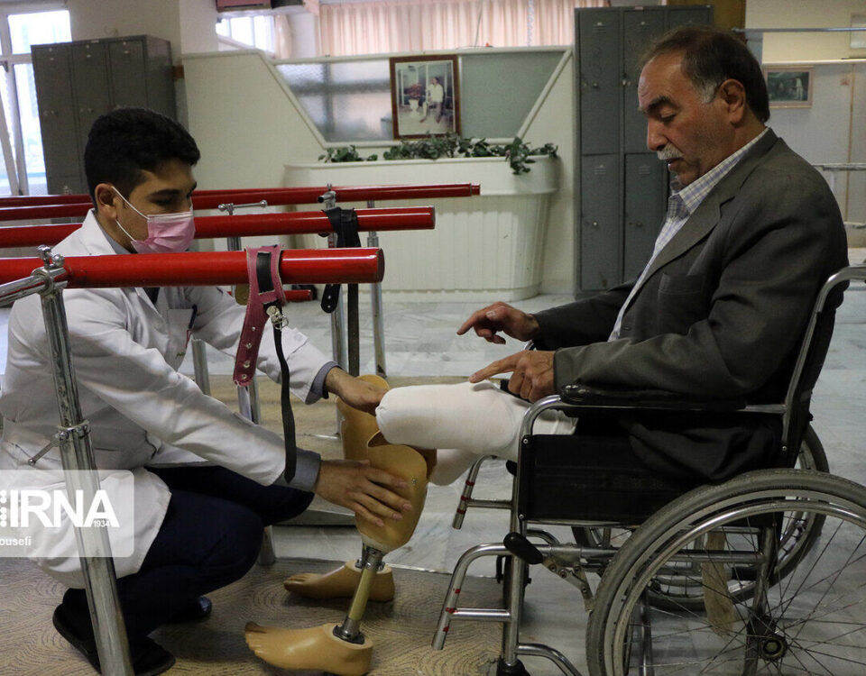Double below-knee prosthesis